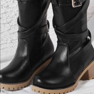 Leather boots 3 colors plus